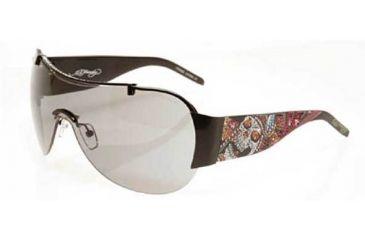 Ed Hardy Fun Dagger-Skull Crystal Sunglasses EHS-003