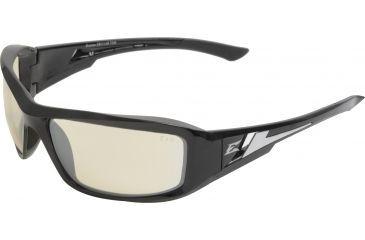 Edge Eyewear Brazeau Safety Glasses Black Frame Clear Anti Reflective Lens Xb111ar