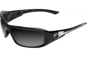 Edge Eyewear Brazeau Safety Glasses Black Frame Polarized Gradient Lens Txbg216