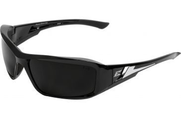 Edge Eyewear Brazeau Safety Glasses Black Frame Smoke Lens Xb116