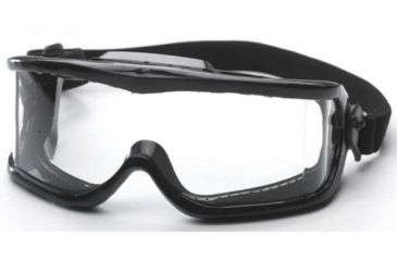 Edge Eyewear Cayesh Full Frame Safety Goggle w/ Clear Lens HC111