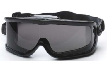 Edge Eyewear Cayesh Full Frame Safety Goggle w/ Smoke Lens HC116