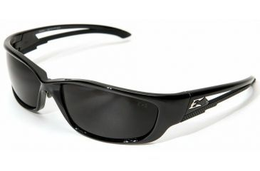 Edge Eyewear Kazbek Islander Fit-Black / Smoke Lens with Gasket GSK116-IFT