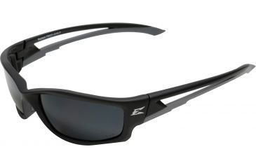 Edge Eyewear Kazbek Safety Glasses Black Frame Polarized G 15 Silver Mirror Lens Tsk21 G15 7
