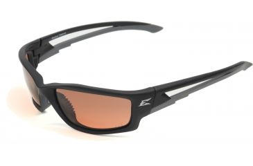 "Kazbek Safety Glasses - Black Frame, Polarized Copper ""Driving"" Lens TSK215"