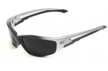 Edge Eyewear Kazbek Safety Glasses - Black Frame, Smoke Lens SK116