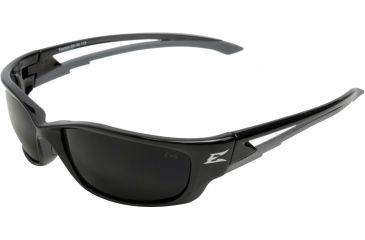 Edge Eyewear Kazbek Xl Safety Glasses Black Frame Smoke Lens Sk Xl116