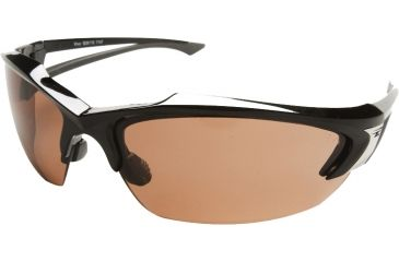 Edge Eyewear Khor Safety Glasses Black Frame Copper Driving Lens Sdk115