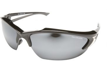 Edge Eyewear Khor Safety Glasses Black Frame Polarized G 15 Silver Mirror Lens Tsdk21 G15 7