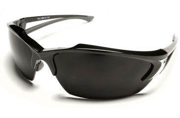 Edge Eyewear Khor Safety Glasses - Black Frame, Smoke Lens SDK116