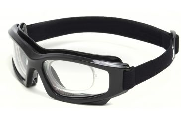Edge Eyewear Speke Low Profile w/Rx Insert Safety Goggle, Clear Lens HS111