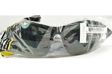 Edge Eyewear Zorge Magnifier Safety Glasses - Black Frame, Smoke Lens, 2.0 DZ116-2.0