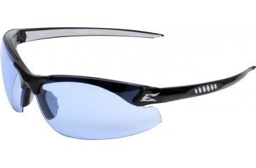 Edge Eyewear Zorge Safety Glasses Black Frame Light Blue Lens Dz113