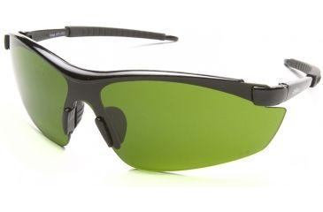 Zorge Safety Glasses - Black Frame, Light Welding IR 3.0 Lens DZ11-IR3