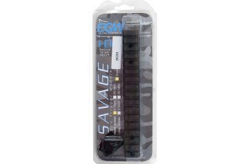 Evolution Gun Works Steel HD Savage Short Action Round Back Picatinny Rail Scope Mount 0 MOA 86200