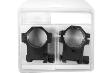 EGW 30mm Tactical Aluminum Scope Mount Rings, Black, 0.990in High