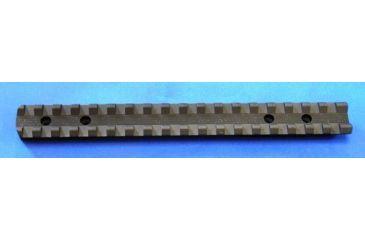 EGW Tikka 595 / 695 Picatinny Rail Tactical Scope Base - top view