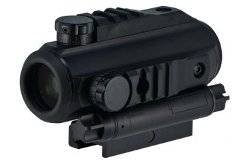 Elcan Specter Combat Optical System 3x Illuminated Crosshair Reticle With Rapid Aiming Feature And Range Finder External Ballistic Adjustment Black Anodized Finish