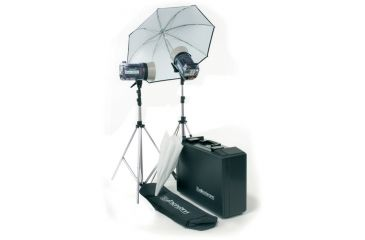 Elinchrom Style 300rx/600rx Kit With Umbr., Rflctr., Stands And Case EL 20743