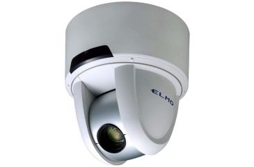 Elmo Indoor Day/Night Network Dome Security Camera PTC-401CIP