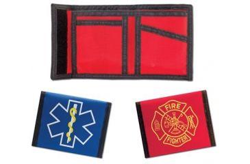 EMI Fire Nylon Wallet, Red 272
