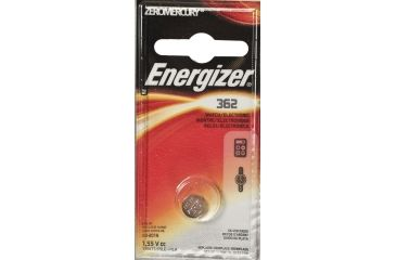 Energizer 1.5 Volt Silver Oxide Zero Mercury Button Cell Battery 362BPZ