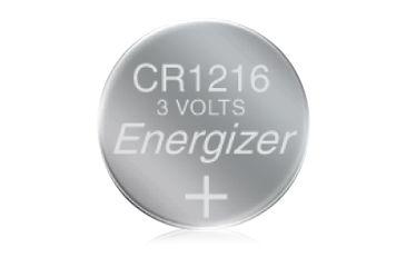 Energizer 3 Volt Button Cell Battery, CR1216 - ECR1216BP