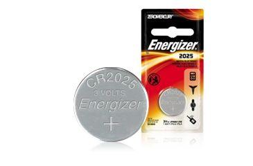 Energizer 3 Volt Button CR2025 Cell Battery 2025KEBP