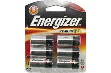 Energizer 3V Lithium 123 Photo 6Pk EL123BP-6