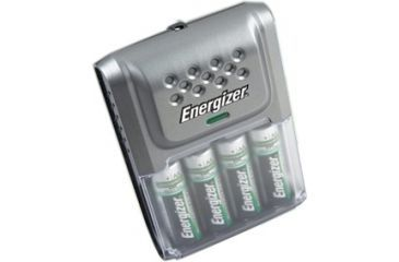 Energizer AA / AAA Car Charger with 4 AA Rechargeable NIMH Batteries CHCARCP-4