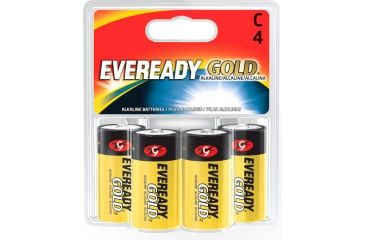 Energizer Eveready Gold C Batteries 1.5 Volts, Energizer Gold Eveready C 1.5 Volts Batteries Packs Energizer Eveready Gold C Batteries 4 Pack
