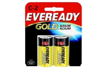 Energizer Eveready Gold C Batteries 1.5 Volts, Energizer Gold Eveready C 1.5 Volts Batteries Packs Energizer Gold C 1.5 Volts Batteries 2 Pack