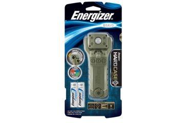 Energizer Bravo Hard Case Tactical Flashlight, OD Green