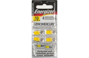 1-Energizer Hearing Aid Size 10 Batteries