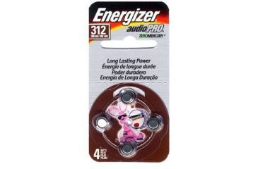 Energizer Hearing Aid Size 312 Batteries 1 4 Volts 8 Pack Tear Pack Az312e 8