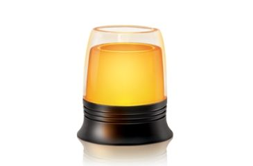 Energizer Glas Flameless Candle w/ 4in. Holder