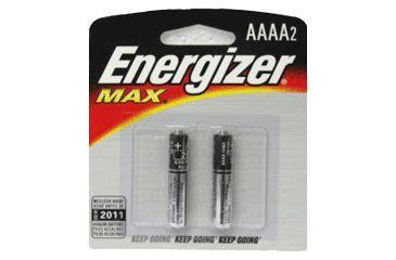 1-Energizer Max Alkaline AAAA Batteries for Pen Lights E96BP-2