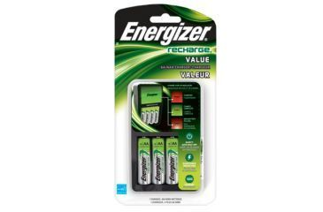 Energizer Recharge Value Charger with 4AA Batteries CHVCMWB-4
