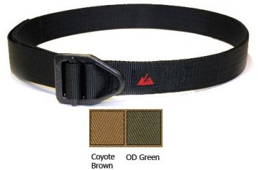1-EOTAC A108 Instructor Belt - 5 Stitch - 1 1/2 Color Coyote Brown Size 34