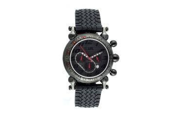 Equipe E101 Balljoint Mens Watch - Black Case, Black Dial, White Numbers