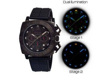 Equipe Tritium Push Mens Watch, Black EQUET304