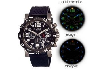 Equipe Tritium Rivet Mens Watch, Black EQUET204
