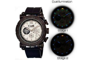 Equipe Tritium Stud Mens Watch, Black-White EQUET505