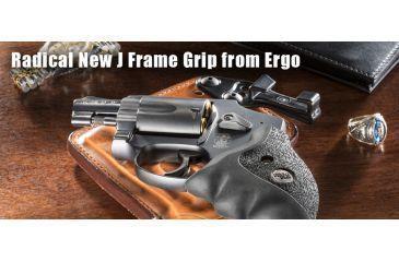 Ergo Grip S&W J-Frame Revolver Delta Grip, Black 4581-SWJ