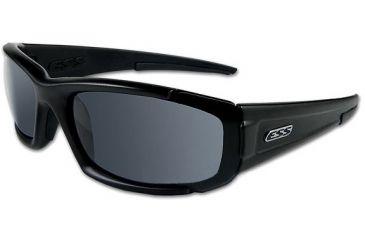 ESS High Adrenaline CDI Sunglasses, Black Frame, Clear/Smoke Lenses 740-0296