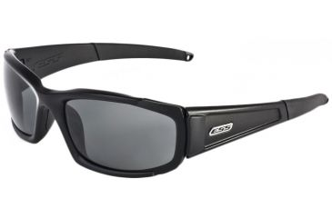 ESS CDI Sunglasses - Polarized Mirrored Gray Lenses, Black Frame 740-0529
