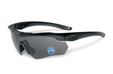ESS Crossbow Polar One Eyeshields, Black Frame 740-0494