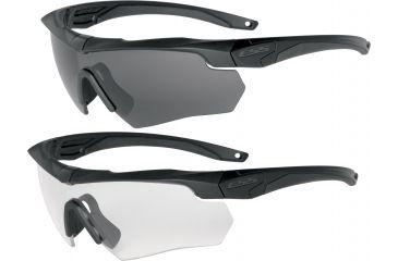 ESS Crossbow 2X Eyeshields - Two Pairs Crossbow Frames Clear Smoke ... 6e3a6c2f1