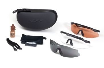 1a5ce47deeaa ESS ICE Tactical Interchangeable Component Eyeshield Safety Glasses Kit  740-0007