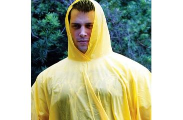 Essential Gear Deluxe Poncho, Yellow EG310-PP6